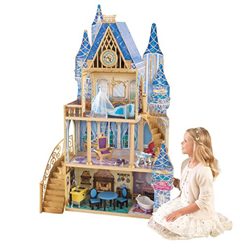 KidKraft Disney Princess Cinderella Royal Dreams Dollhouse- Exclusive (Amazon Exclusive) (Giant Doll House)