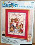 """Bucilla Baby Collection """"Once Upon a Time"""" Counted Cross Stitch Kit 1996"""