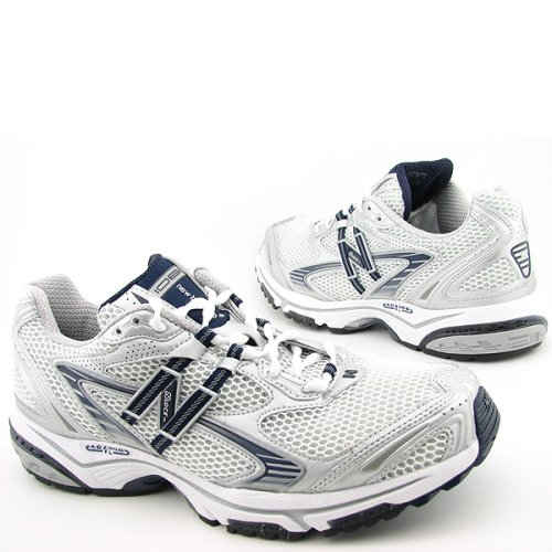 MR1061SB New Balance MR1061 Mens Running Shoe White/Grey/Blue 2ALDZ