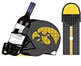 University of Iowa Football Helmet Bottle and Cork Cage Holder