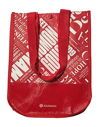 Lululemon 20th Anniversary Small Reusable Tote Carryall Gym Bag (Red)