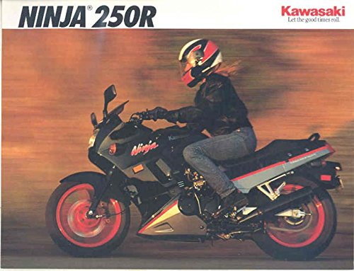 Amazon.com: 1992 Kawasaki Ninja 250R EX250 F6 250 Motorcycle ...
