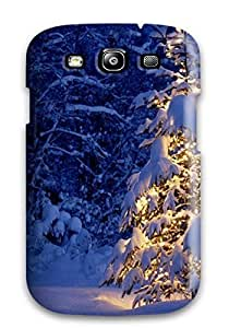 linJUN FENGBaEqLui6168rhoSB Anti-scratch Case Cover JudyRM Protective Holiday Christmas Case For Galaxy S3