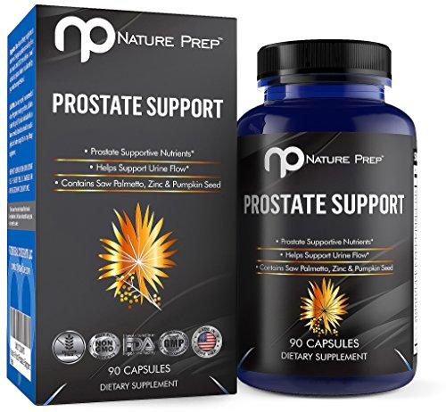 NaturePrep Palmetto Prostate Supplement Capsules