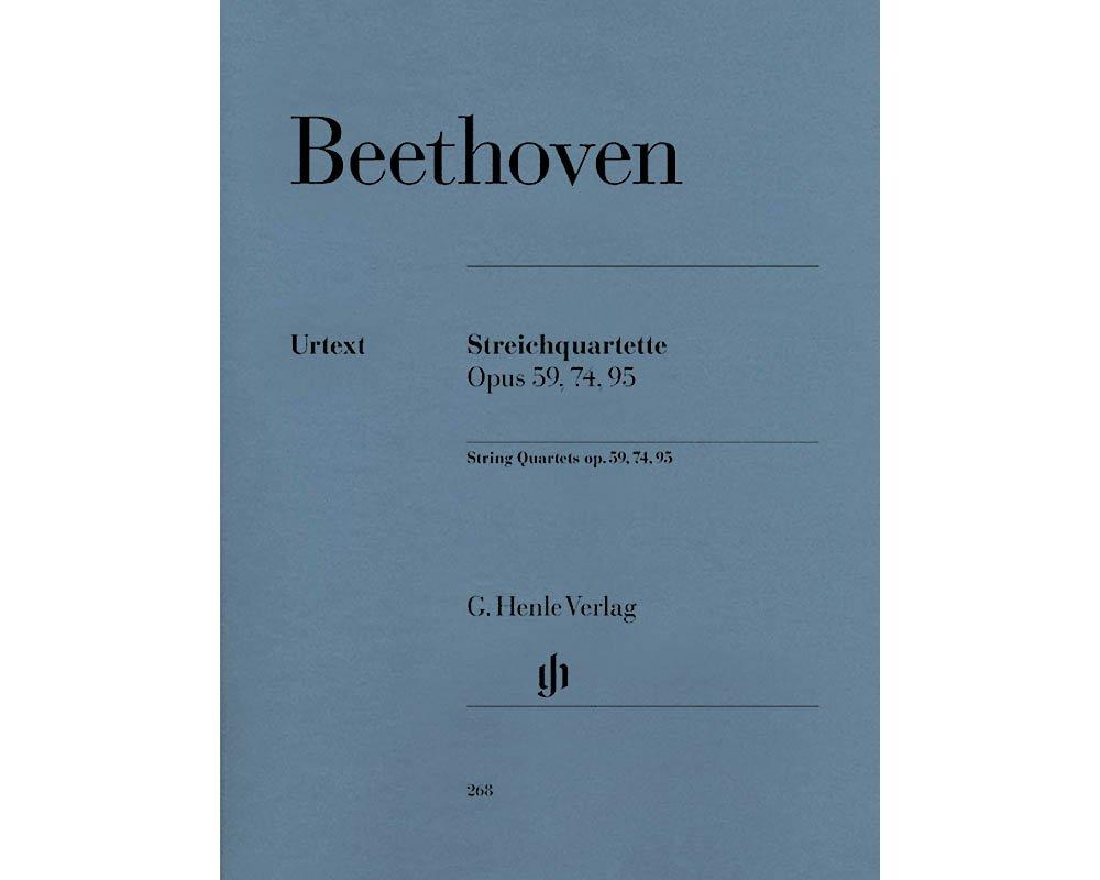 Download String Quartets Opus 59 74 95 PDF