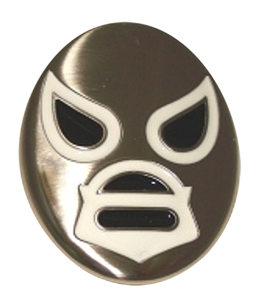 WRESTLING SANTO MEXICAN MASK Lucha Libre Belt Buckle