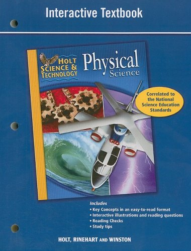 Holt Science & Technology: Interactive Textbook Physical Science