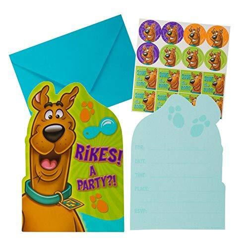 (Scooby Doo Birthday Party Invitations 16)