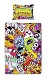 Character World 135 x 200 cm Moshi Monsters Moshlings Single Panel Duvet Set, Multi-Color
