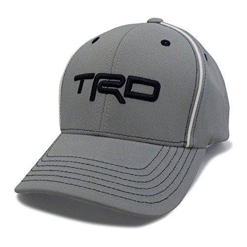 CarBeyondStore Toyota TRD Hayes Gray Baseball Cap