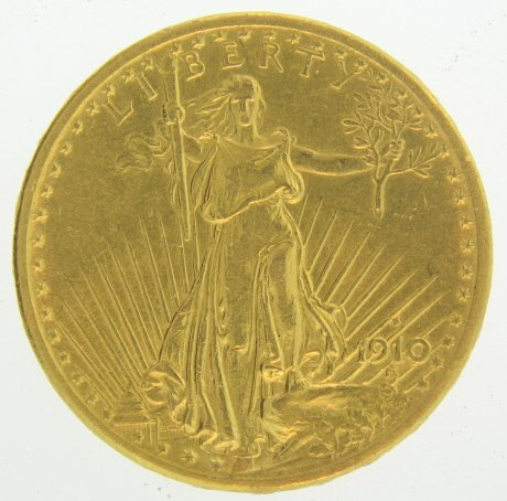1910 Pre-1933 US Gold Coins $20 Various Grades
