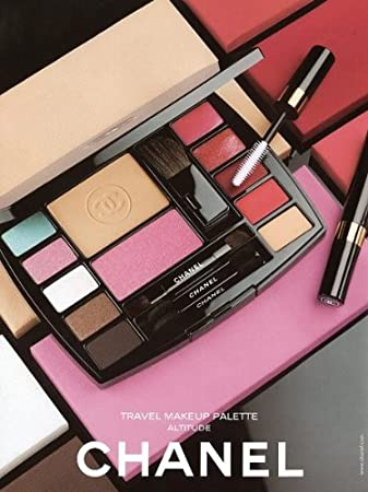 CHANEL Complete Travel Makeup Palette with Mascara ALTITUDE Essentials
