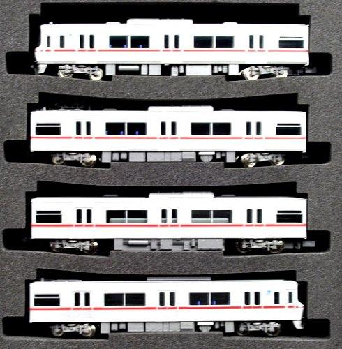 Nagoya Railway (Meitetsu) Series 3300 w/Motor (Basic 4-Car Set) (Model Train) (japan import)