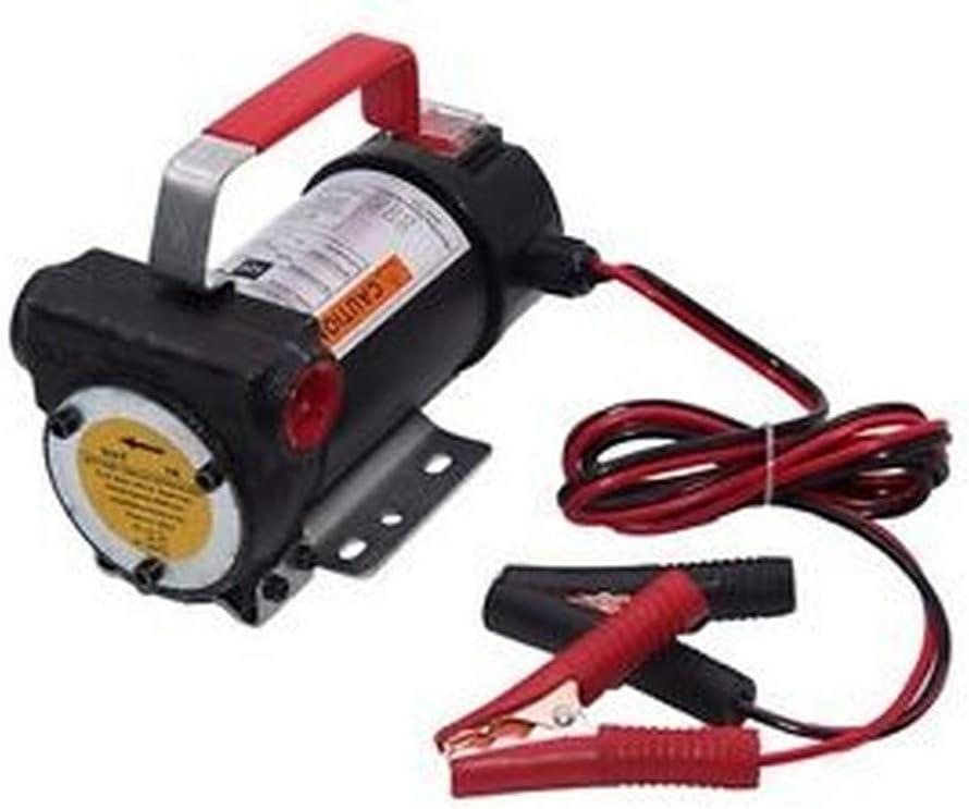 40 L//min 12 V autoaspirante bomba de combustible Bomba el/éctrica de aceite bomba di/ésel bomba de barril