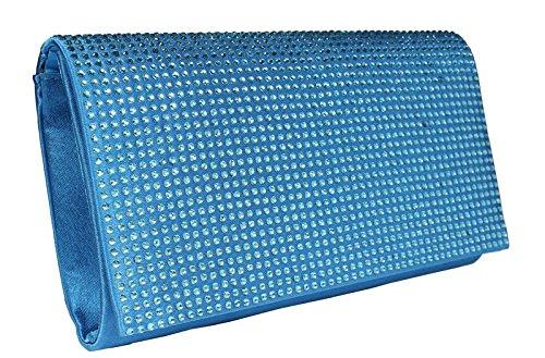 Schöne praktische Abendtasche MQ11602 Sky Blue