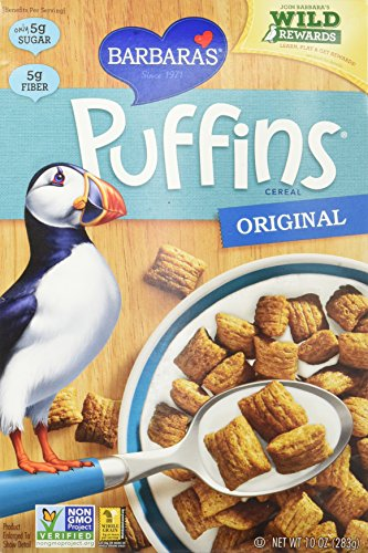 - BARBARAS BAKERY Orignal Puffins Cereal, 10 OZ