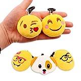 "MelonBoat 36 Pack 2"" Emoji Plush Keychain Mini"