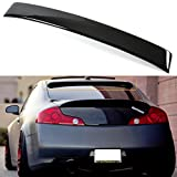 FOR 2003-2007 INFINITI G35 2DR COUPE JDM VIP GLOSSY BLACK REAR WINDOW ROOF SPOILER WING