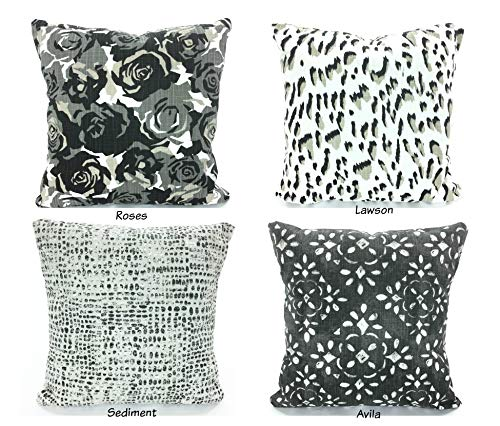 Amazon Black Throw Pillow Covers Decorative Pillows Cushions Beauteous Black And Tan Decorative Pillows
