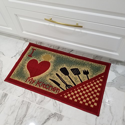 Maxy Home Cucina Collection Runners, Area Rugs
