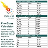 "Celestial Fire Glass High Luster, 1/4"" Reflective"