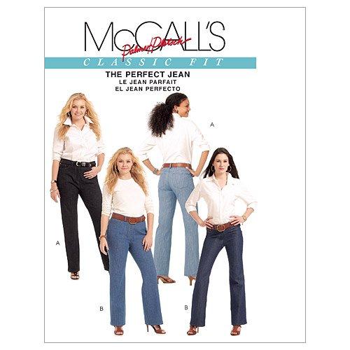 - McCall's Patterns M5894 Misses'/Women's Jeans, Size B5 (8-10-12-14-16)