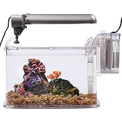 KollerCraft TOM Deco Aquarium Kit, 2-Gallon