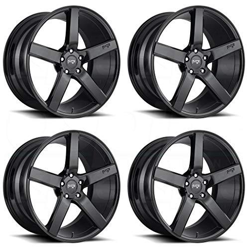 - Niche M188 Milan 20x10 5x114.3 +40mm Gloss Black Wheel Rim
