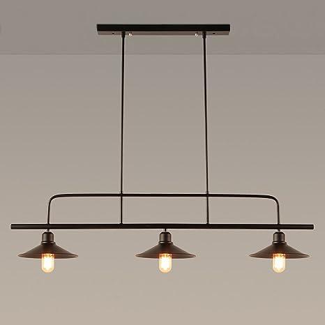 Lampade a sospensione Retro Lampadari, lampade da tavolo da biliardo ...