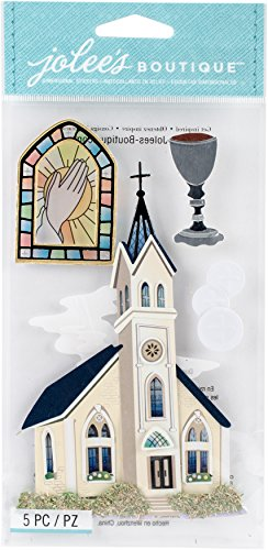 (Jolee's Boutique Dimensional Stickers, Catholic Church)