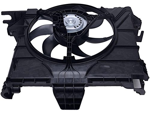 (TOPAZ 0002009323 Radiator Cooling Fan Assembly for 2007-2015 Smart Car Fortwo 451 )