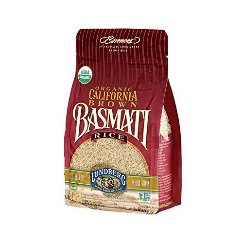 Lundberg California Brown Basmati Rice, 32 Ounce (Pack of 6), Organic (Best Special Basmati Rice Review)