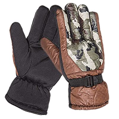 Orgrim Tactical Camouflage Mens Cold Weather Waterproof Camo Print Thinsulate Ski Gloves