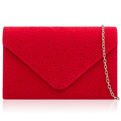London pour red femme Xardi Pochette 7qaxd7P