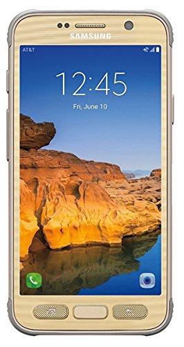 Samsung Galaxy S7 Active G891A 32GB Unlocked GSM Shatter,Dust and Water Resistant...