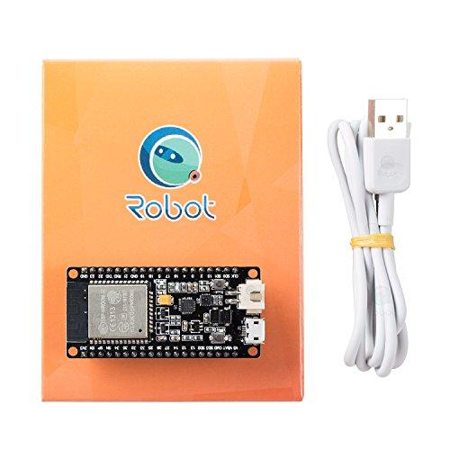 CQRobot ESP32 Development Board - ESP32 Chip, 4 MB of SPI Flash, Tuned  Antenna, WiFi/WLAN/Bluetooth Modul, mit 240MHz Dual Core MCU