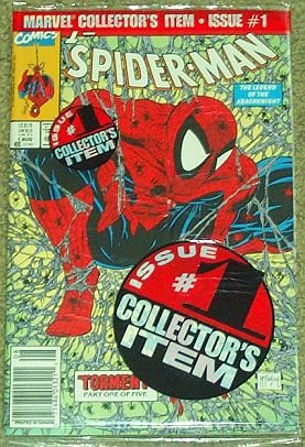Spider-Man #1 The Legend of the Arachknight Special Poly Bagged Collector's Item (Torment Part One of Five, Volume 1) (Mcfarlane Man Spider)