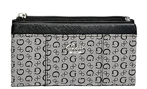 GUESS Women's Flowing Logo Fold-Over Wallet ()