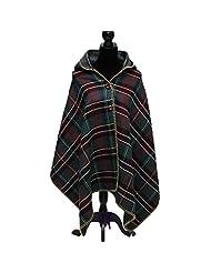 Yxjdress Fashion Pashmina Wrap Shawl Poncho Cape Hooded Cardigans Loose Coat