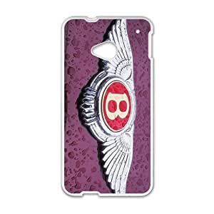 QQQO Bentley sign fashion cell phone case for HTC One M7