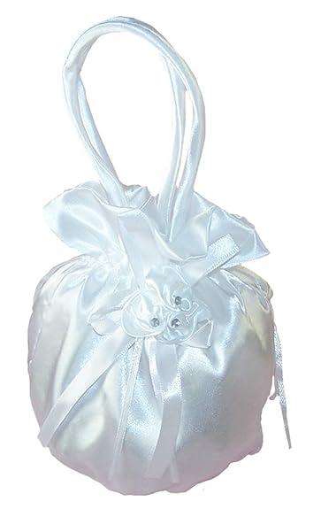 Holy Communion Diamante Cross Dolly Bag