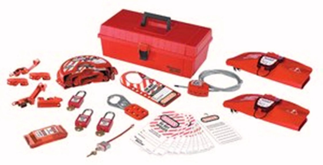 Master Lock Personal Lockout Toolbox Kit, Includes 3 Zenex Padlocks by Master Lock