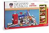 : FDNY Fire Station with 5 Vehicles Playset