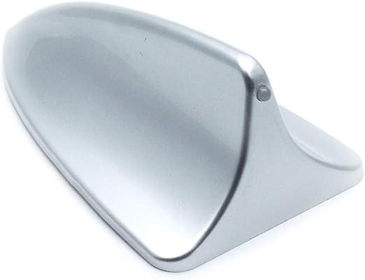 Silver Car Shark Fin Dummy Decorative Antenna Aerials Roof Style Universal Truck