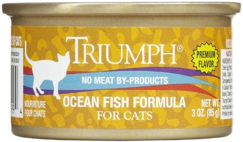 Triumph Ocean Fish Cat Food – 24x3oz
