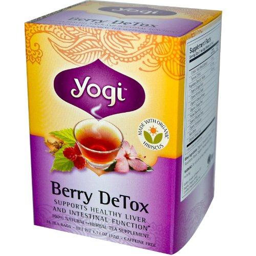 Yogi Tea Bio Berry Detox - 16 Sachets de Thé