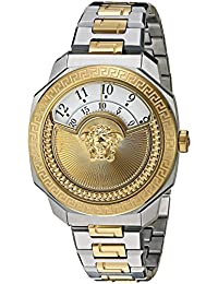 Women s  Dylos Icon  Swiss Quartz Stainless Steel Casual Watch, Color Two  Tone · Versace 5b1a909f8ea