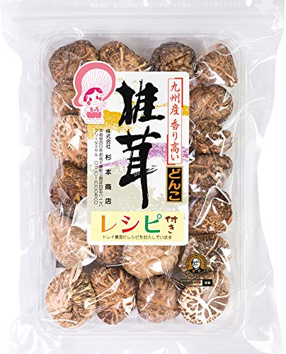 - Japanese Dried Shiitake DONKO, 25-42mm, 70g
