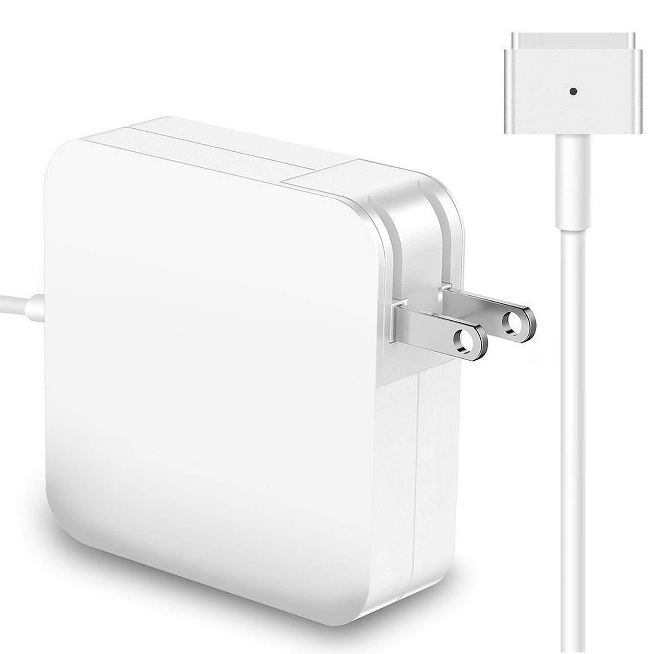 Mac Book Air Charger 45W Charger T-Tip Adapter Replacement Magsafe 2 Connector Power Adapter for Mac Book Air 11-inch and 13-inch After Mid 2012