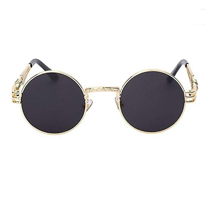 Amazon.com: Espejo anteojos de sol mujeres hombres anteojos ...